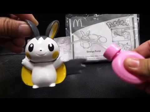 麥當勞Mcdonald's Happy Meal Toy兒童餐玩具 神奇寶貝 Pokemon ポケットモンスター Emolga Pump