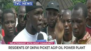 Residents of Okpai picket Agip Oil Power Plant for continuous neglect