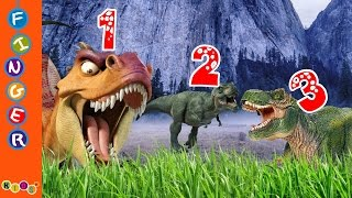Learning number with the help of 3D Dinosaur Animation Nursery Rhymes By KidsW