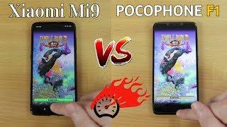 Xiaomi Mi 9 vs Pocophone F1 - Speed Test SD855 vs SD845 [Eng Subs]