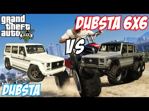 Gta Dubsta vs Insurgent ▶ Gta 5 Dubsta 6x6 vs