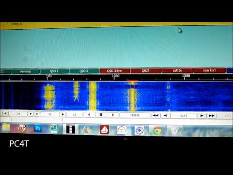 CW on PSK frequency