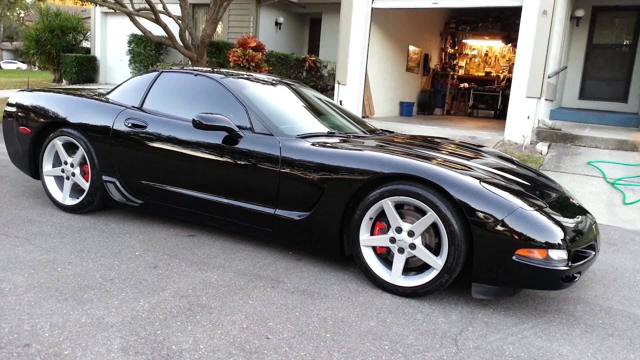 corvette c5 black high luster paint youtube. Black Bedroom Furniture Sets. Home Design Ideas