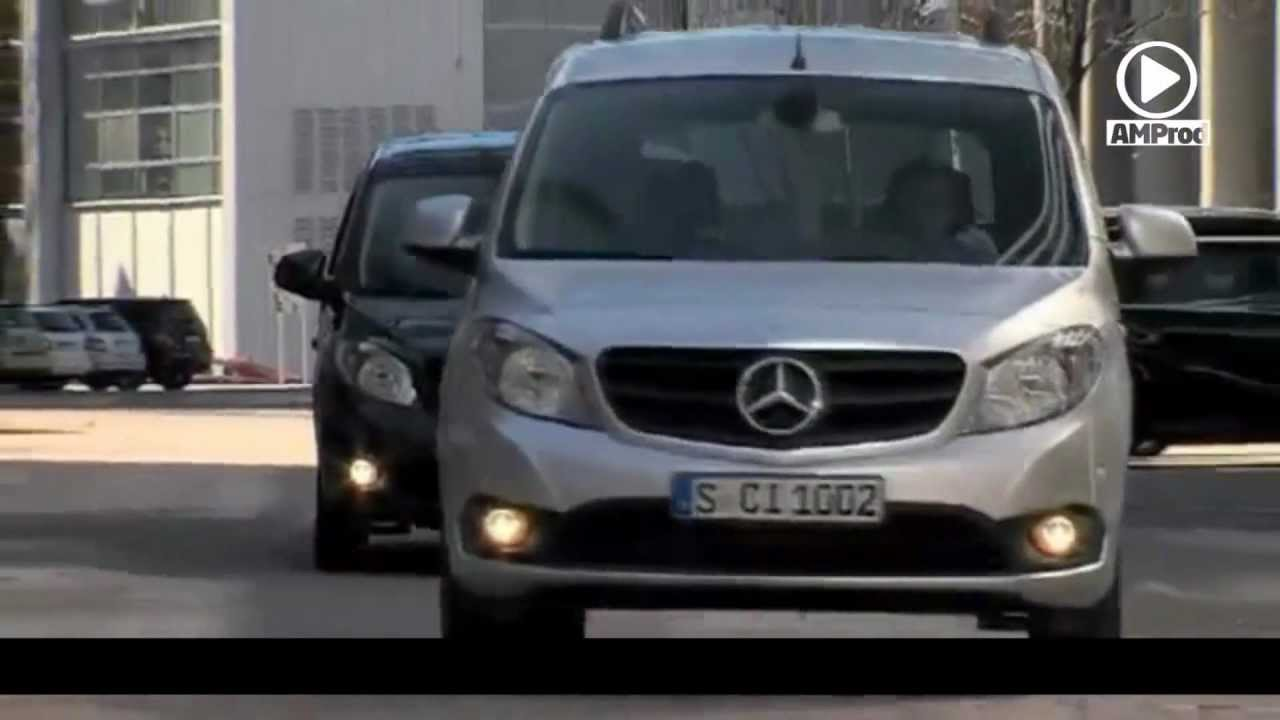 le nouvel utilitaire l ger mercedes citan youtube. Black Bedroom Furniture Sets. Home Design Ideas