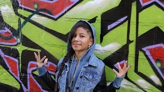 "BABY KAELY ""BIZNESS!"" AMAZING 10yr old KID RAPPER!"