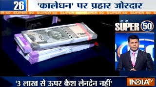 Super 50 : NonStop News   2nd February, 2017 - India TV