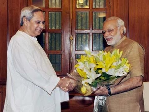 Naveen Patnaik Meets Narendra Modi - Uncut Video