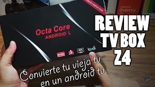 REVIEW ANDROID TV BOX Z4 2GB RAM + 16GB ROM / CONVIERTE TU TV ANTIGUA EN UNA ANDROID TV