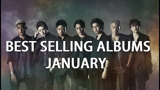 Top Selling Albums of January 2018 - Worldwide