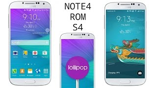 How to install Aurora Note4 Lollipop 5.0.1 ROM on galaxy s4 I9500