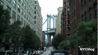 DUMBO Brooklyn NYC - Down Under The Manhattan Bridge Overpass