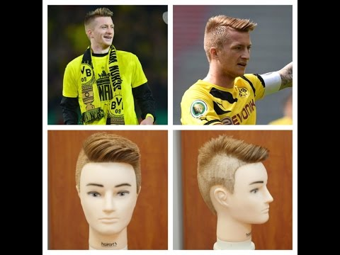 Marco Reus 2014 Updated Haircut Tutorial