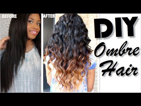 How To: Ombré Hair DIY - Valencia Rose Hair