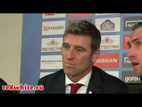 Массимо Каррера после матча Спартак - Уфа 3:1