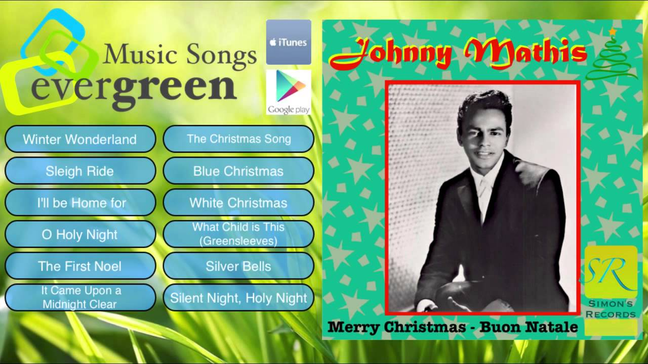 Johnny Mathis Christmas Album Johnny Mathis Merry Christmas