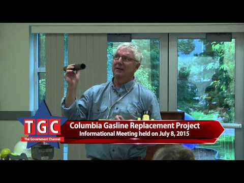 Columbia Gasline Replacement Information Meeting July 2015