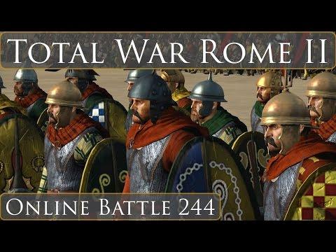 Total War Rome II Online Battle 244