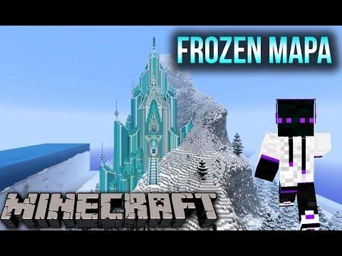 Minecraft 1.8/1.7.10/1.7.2 - Mapa De Aventura Frozen Elsa´s Ice Clastle