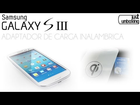 Adaptador de carga inalámbrica para Galaxy S3 (Everbuying)