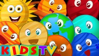 Planet Song | Nursery Rhymes For Children | Kids TV popular kids songs