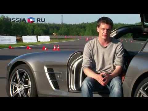 Mercedes-Benz SLS AMG тест-драйв