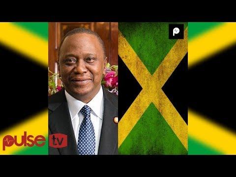 UHURU KENYATTA IN JAMAICA