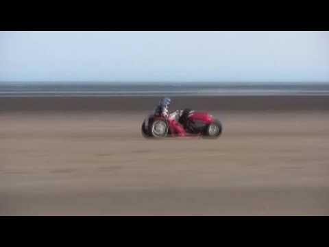 Project Runningblade - World Landspeed Record for a lawnmower back in UK - 87.833mph
