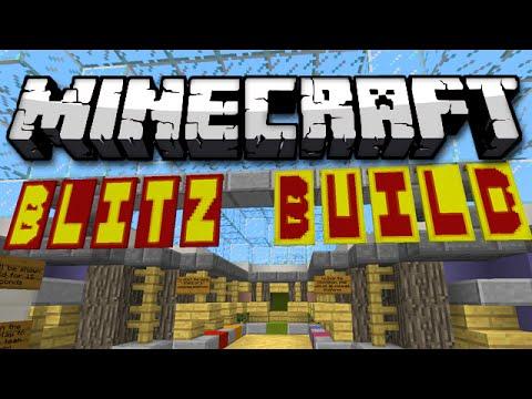 Minecraft: BLITZ BUILD - Speed Building Memory Game!