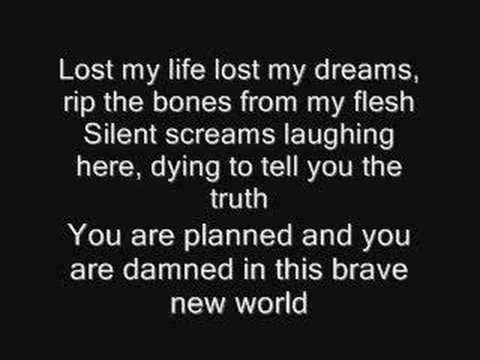 Iron Maiden Brave New World Lyrics video