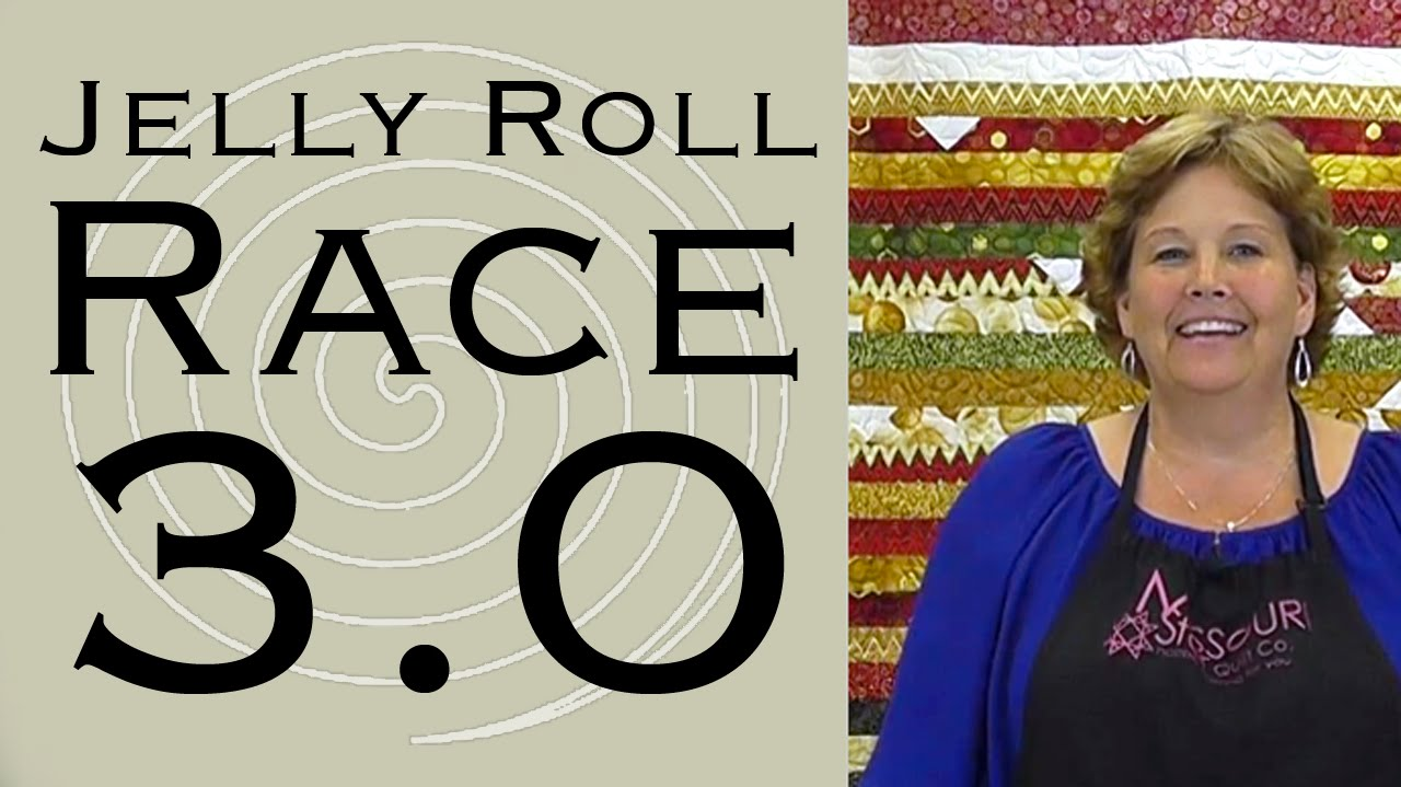 Jelly Roll Race 3 0 Easy Quilting With Jenny Youtube