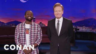 Conan Introduces Himself To The People Of Haiti  - CONAN on TBS