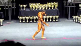 2014 OCB Body Sculpting Open Posing Routine