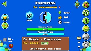 Partition | Geometry Dash