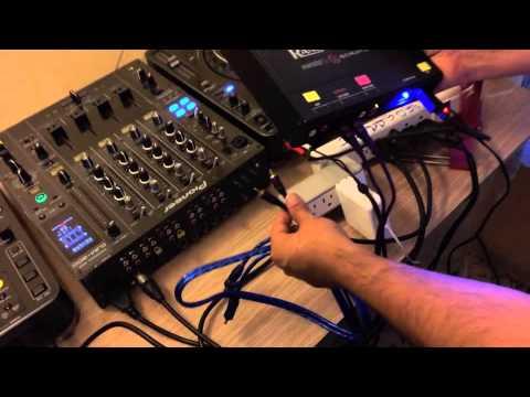 Tutorial #5 pioneer dj ¿como conectar una cabina de dj serato  2 cdj 1000 mk3 djm 800?