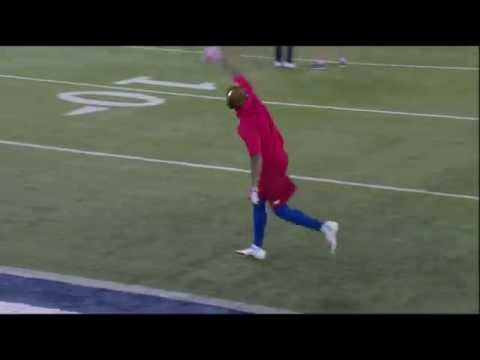 Odell Beckham JR One Handed Catches In Warmups