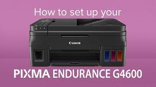 02. How to set up the Canon PIXMA G4600 MegaTank
