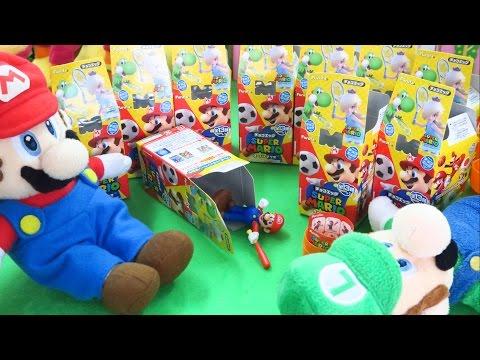 スーパーマリオSports チョコエッグ スポーツ 箱買い Super Mario Sports Chocolate Eggs おもちゃ