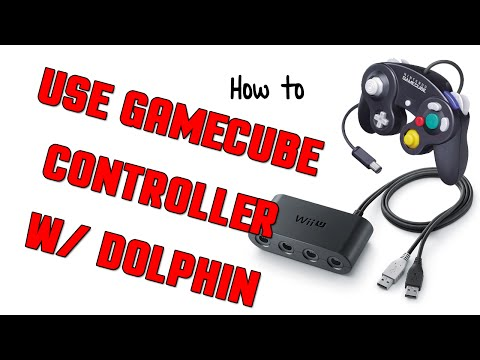 How-To: Using a GameCube Controller w/ Dolphin Emulator