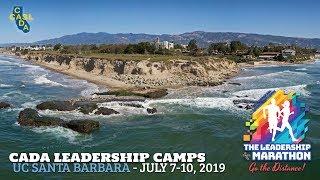 CADA Leadership Camp - July 7-10, 2019