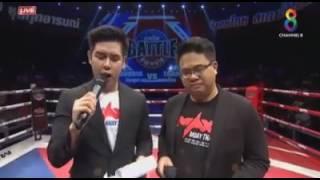 Kun Khmer boxing-khim Dima vs thai(KO)-Max mouy Thai world battle-23 September 2016