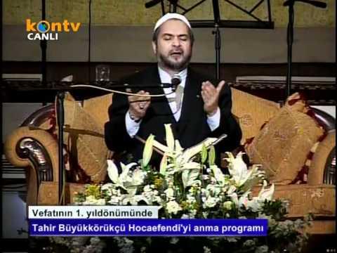 Hatim Duası (05-03-2012)- Abdurrahman Büyükkörükçü Hoca