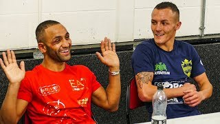 Josh Warrington vs Kid Galahad POST FIGHT PRESS CONFERENCE  | Leeds Boxing