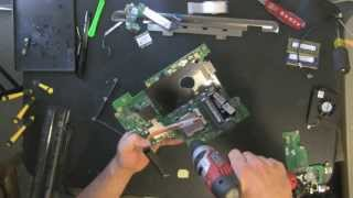 DELL Inspiron 14R N4010 laptop take apart video, disassemble, how to open