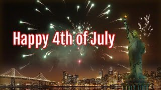 Happy 4th of July Wishes, images, fireworks, messages for friends & family