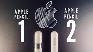 Apple Pencil 1 vs Apple Pencil 2
