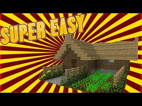 MINECRAFT TUTORIAL - HOW TO THE ULTIMATE SURVIVAL HOUSE