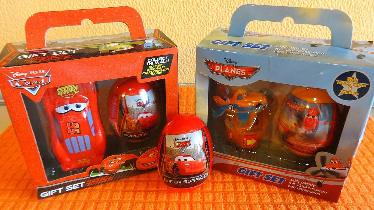 disney cars amp planes movie gift sets surprise eggs toys