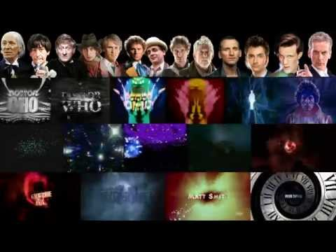 Doctor Who-every Title Sequence At Once!-1963-2014 (celebrating 50 Years) video