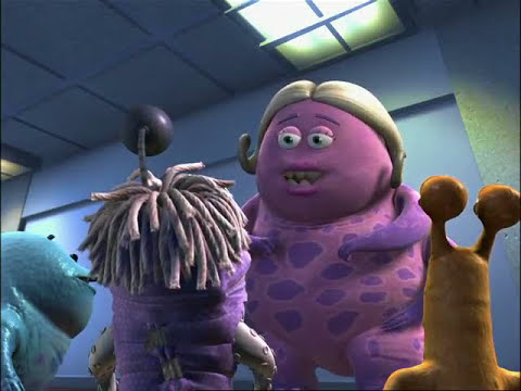 Monsters Inc. - Boo - Mike Wazowski