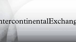 Intercontinental Exchange to buy NYSE